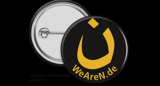 """WeAreN Buttons, um sich als """"Nazaräer"""" zu outen?"""